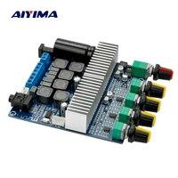 Aiyima 2017 Nieuwe TPA3116 Subwoofer Versterker Board 2.1 Channel High Power Bluetooth Audio Versterker Board DC12V-24V 2*50 W + 100 W