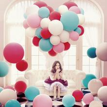 5PC/Lot 36″ Inch Giant Ballon Decoration Birthday Wedding Party Celebration Decor Latex Matte Balloons Party Supplies Ballonnen