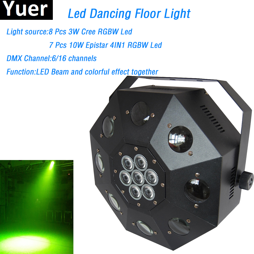 Led Dancing Floor Light famous led lamp 120W RGBW lighted dance floor 6/16 DMX Channel DJ DMX Disco Laser led dance floor