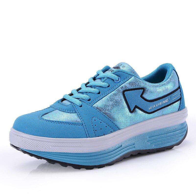 GOGORUNS женские уличные дышащие качели платформы спортивные кроссовки низкие беговые кроссовки Бег женские кроссовки