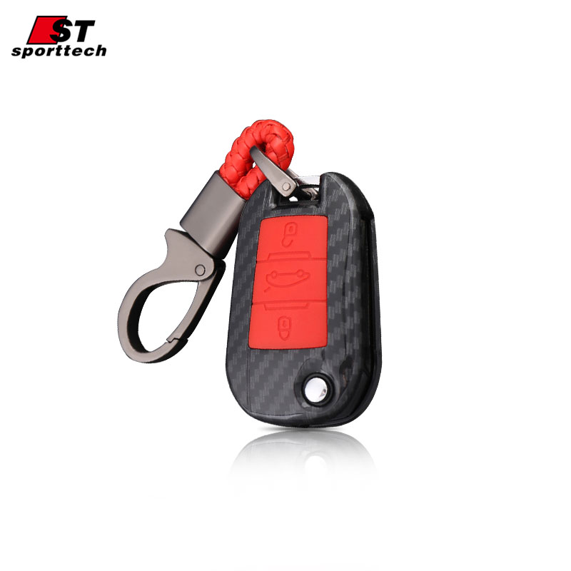 Car Keychain For <font><b>Peugeot</b></font> <font><b>5008</b></font> 4008 3008 2008 308 408 508 307 301 308S 207 206 Car <font><b>Key</b></font> Case <font><b>Cover</b></font> Ring Holder Accessories Styling image