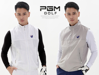 High quality!PGM golf clothing male jacket cold windbreaker vest Golf windproof vest,Free shipping