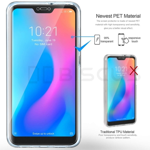 Full Body Case for Xiaomi Mi A2 Lite A1 8 SE A3 TPU Cover on Xiaomi Redmi Note 5 Pro Note 7 4 Global 4X Redmi 7A 6A 5 Plus 5A 6 Islamabad
