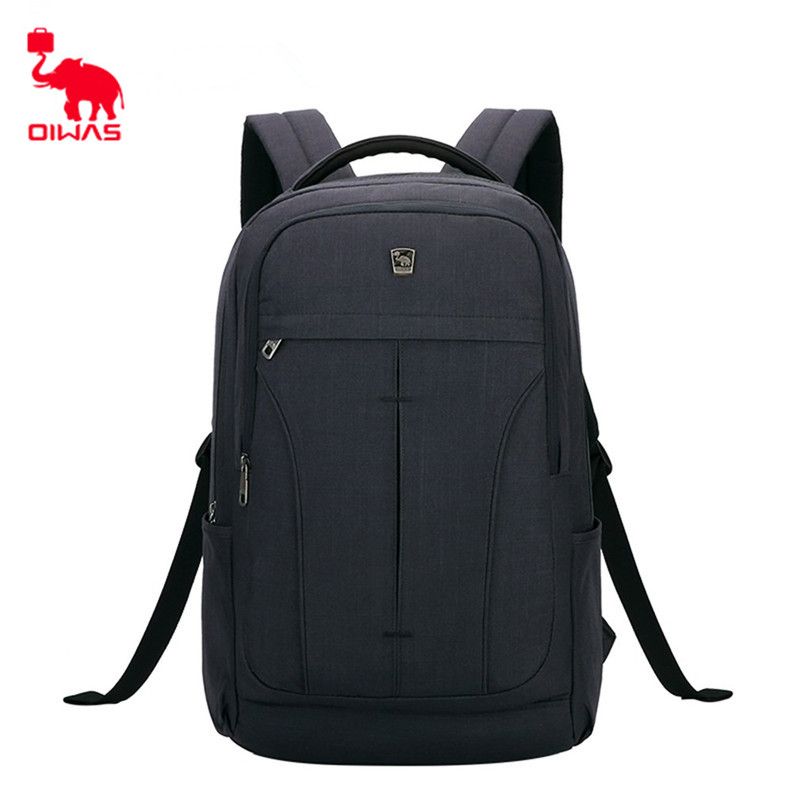 Oiwas Comfortable Leisure Travel 14 inch Laptop Portable Backpack OCB4328 Business Double Shoulder Bags Gift Bag oiwas 2901xl nylon travel double shoulder backpack bag black 32l