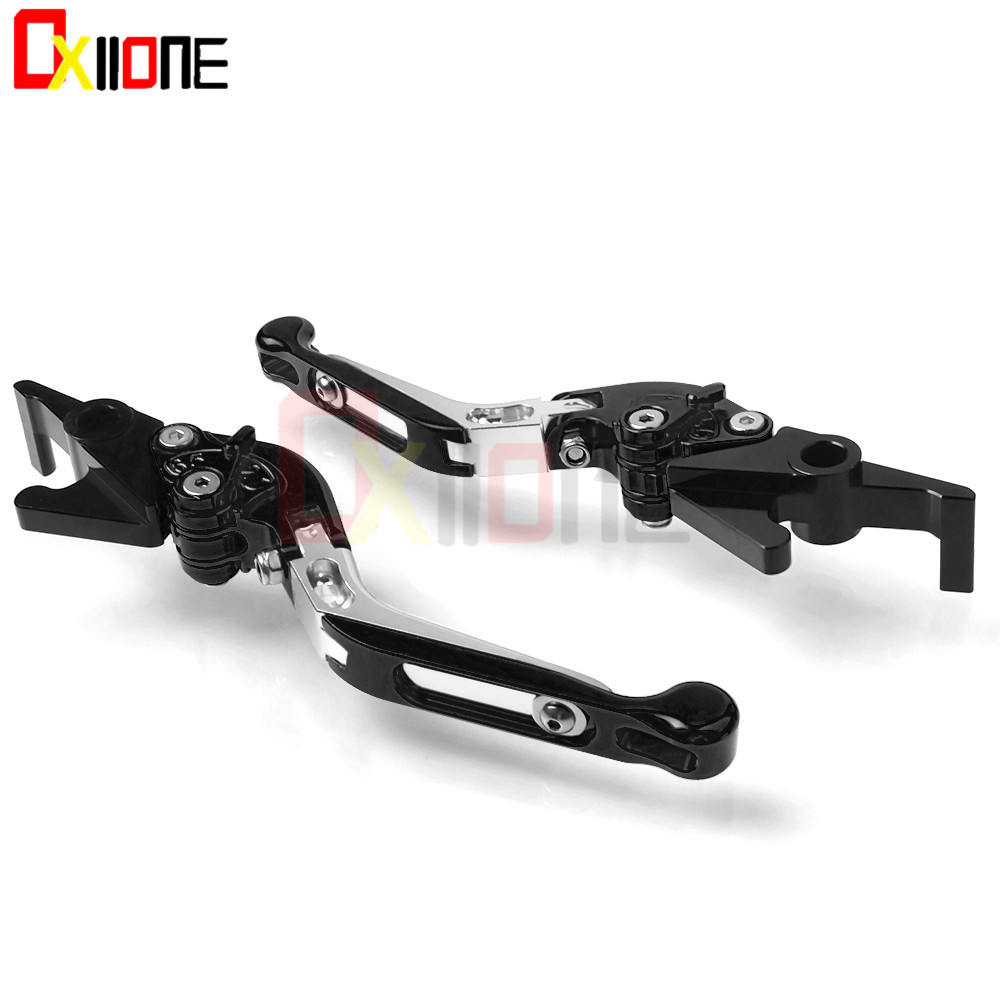 13Colors Motorcycle CNC Aluminum Adjustable Foldable Fold Extendable Brake Clutch Levers For KAWASAKI ZX12R ZX 12R 2000 2005 in Levers Ropes Cables from Automobiles Motorcycles