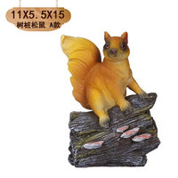 Squirrel home creative living room wall crafts decoration lovely cartoon pendant lovely small ornaments room statue