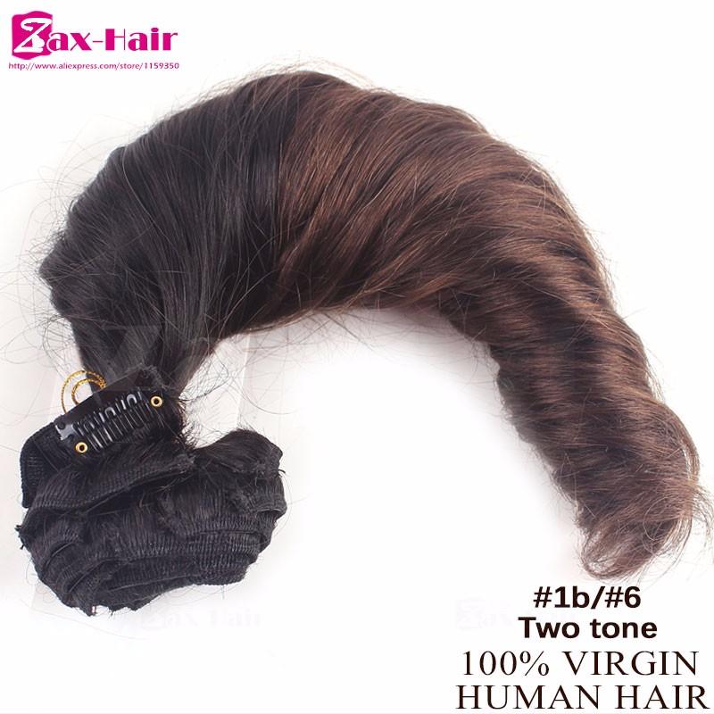clip in hair human hair extensions01