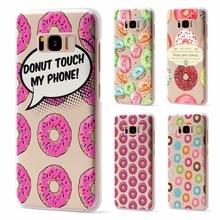 For 2018 new coque Samsung Galaxy S9 case Doughnut Soft TPU for Samsung Galaxy S8 Plus for Samsung Galaxy S7 S7 Edge S8 case