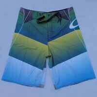 Ropa de playa para adultos pantalones cortos de playa de secado rápido tela elástica de alta calidad tablero de marca hombres bermudas masculina de marca pantalones cortos