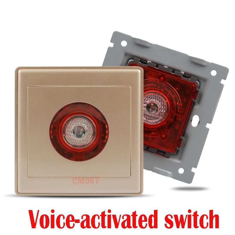 Sound And Light Control Delay Motion Sensor Switch For: Voice Activated Sound And Light Control Switch 86