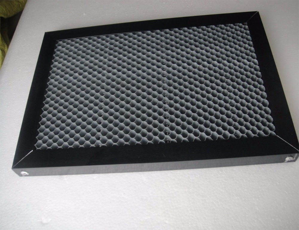 Laser Enquipment Parts Honeycomb Working Table For CO2 Laser Engraver Cutting Machine300x400mm 300x500mm honeycomb table laser machine honey comb co2 laser engraver cutting steel mesh for stamping curving cutting machine