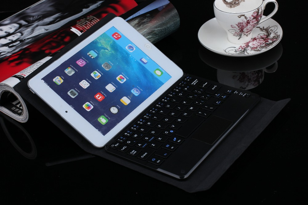 "Wireless Bluetooth Local Language Keyboard Protective Case For Lenovo TAB 2 TAB2 A7-10 A7-10F A7 10F 7"" Tablet PC And 4 Gifts"