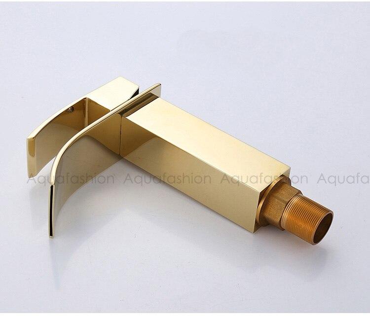 bathroom faucet gold (14)