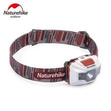 Naturehike перезаряжаемые Налобный фонарик яркий 150 lumen LED Light, водостойкий, регулируемое оголовье, USB зарядка VS petzl