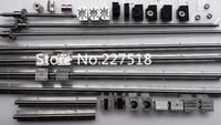 6 компл. линейный рельс SBR16 L300/1500/1500 мм + SFU1605 350/1550/1550 мм ШВП + 3 BK12/BF12 + 3 DSG16H гайка + 3 муфта для ЧПУ
