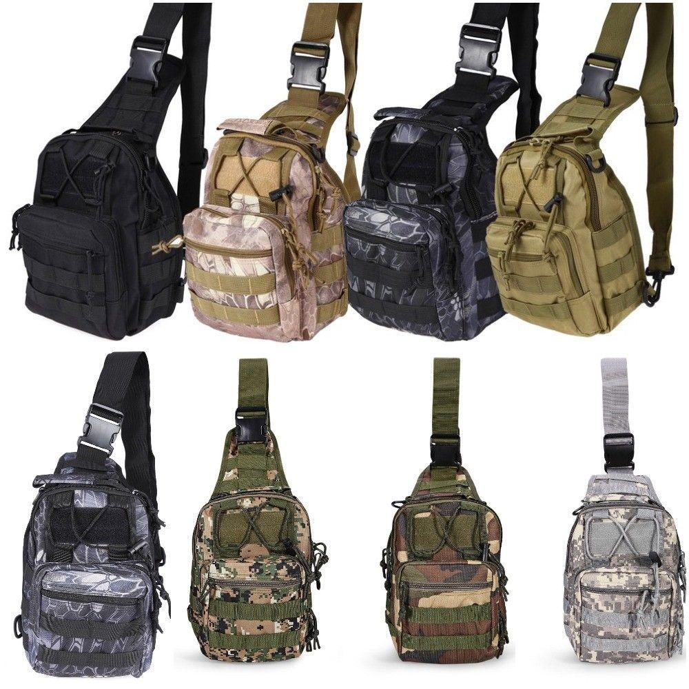 Envío Gratis Outlife 600D bolso al aire libre táctico militar bolsas mochila hombro Camping senderismo bolsa camuflaje caza mochila