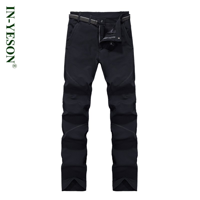 New Autumn Winter Quick Dry Pants Men Brand Outdoor Sports Travel Climbing Camping & Hiking Softshell Trousers Men купить