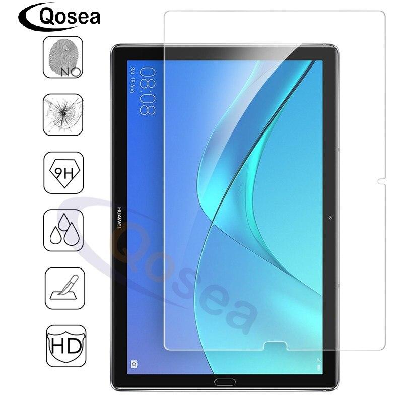 Qosea Pour Huawei Mediapad M5 10.8 pouce Trempé Verre 9 H Effacer Tablet Film Protecteur Pour MediaPad M5 8.4 pouce écran Protecteur