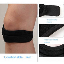 Adjustable Sports Knee Patella Tendon Support Strap Band Gym Fitness Belted Leg Brace Guard Pad Protector