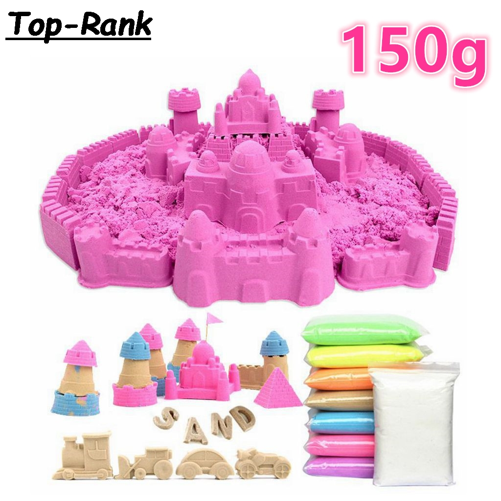⃝dodolu Kids Play ① Sand Sand Dynamic Artificial Colored Sand 【】 Baby Baby Space Sand Children