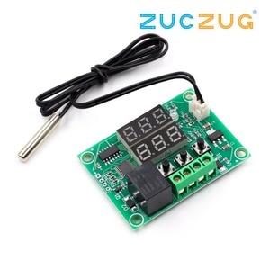 Image 3 - XH W1219 Dc 12V Dual Led Digitale Display Thermostaat Temperatuurregelaar Regulator Schakelaar Controle Relais Ntc Sensor Module