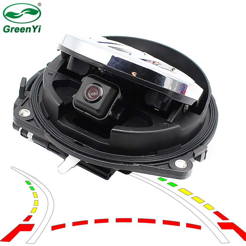 Dynamic Trajectory Line Smart Flip Vehicle Rear View Camera For VW CC Golf 6 Passat B7