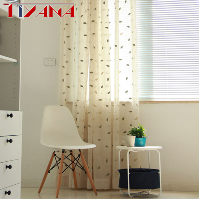 Unique Linen Embroidered Curtains