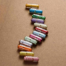 Creativo amor cápsula con letra Mini Cajas de Regalo Botella de deseo con papel receta secreto cercanas amantes caja 50 Uds 21x7mm