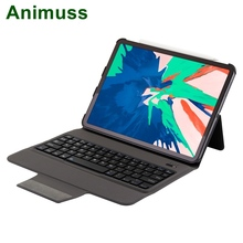 Animuss Wireless Keyboard For iPad Pro 11 Case Bluetooth Drop Resistance Protective Shell Skin