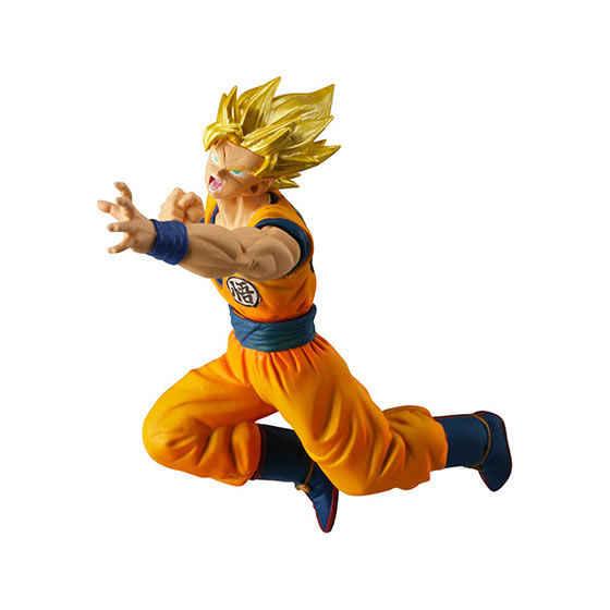 """Dragon Ball Super"" Original VS Batalha BANDAI Gashapon PVC Toy Figura Parte 7-Conjunto Completo 4 PCS super Saiyan Goku Broly"