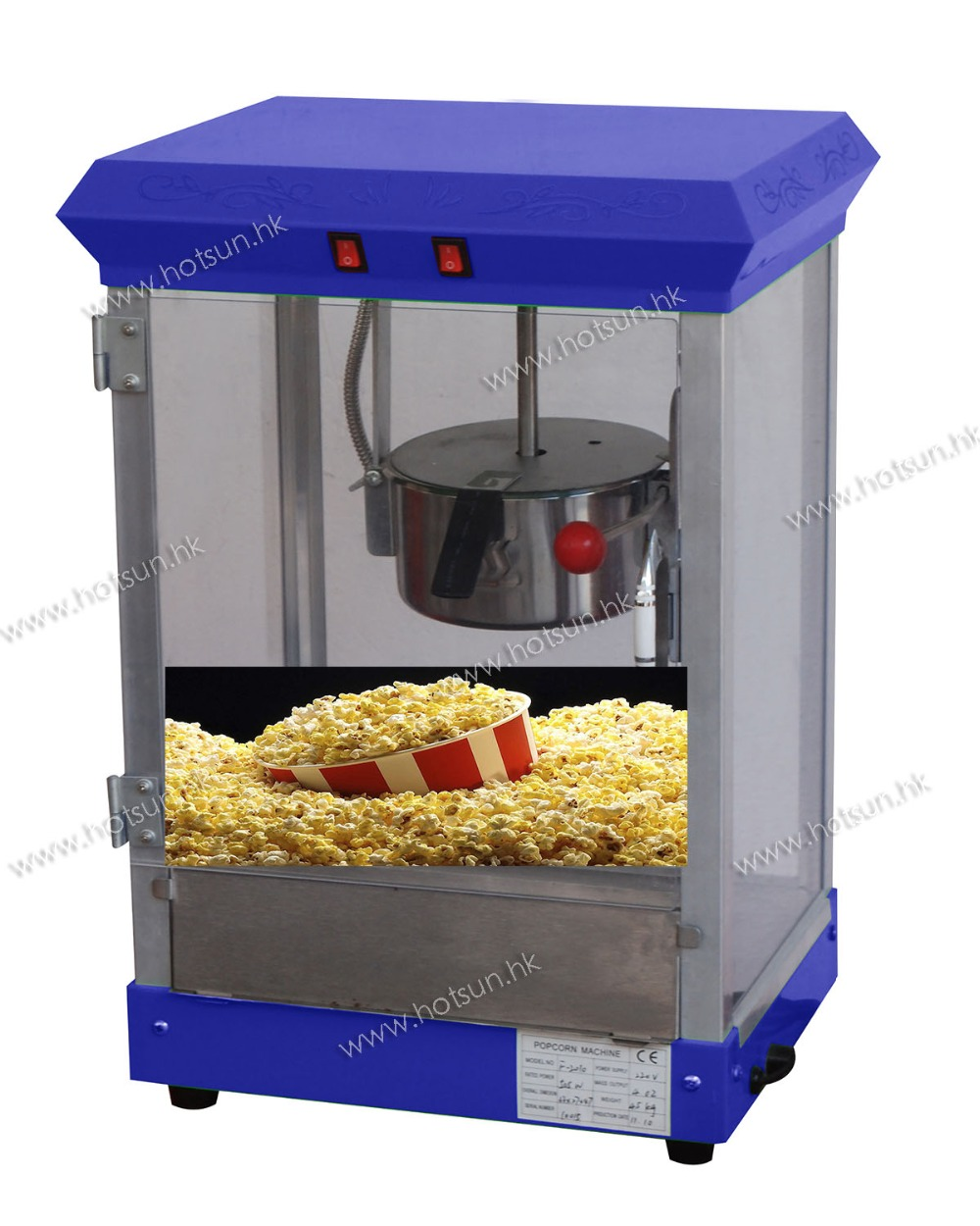 Free Shipping Electric Desktop Mini Popcorn Maker Machine 4oz Capacity pop 06 economic popcorn maker commercial popcorn machine with cart