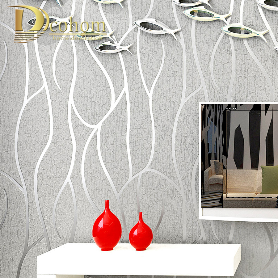 High Quality Modern Geometry Striped Wallpaper For Walls 3D Embossed Living room Sofa TV Background Home Wall Paper Rolls dark geometry modern 3d wallpaper walls tv unit texture black background living room wall paper roll for home decor