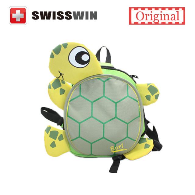 3D lindo Animal Tortuga Pequeña Para Niños Mochilas Niños Mochilas niños Bolsa Mochilas de Preescolar Mejor Regalo para los Niños Mochila