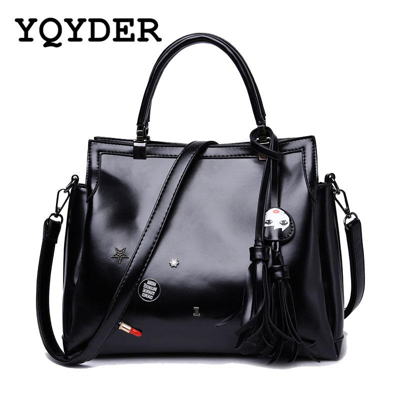 купить Women Bag Famous Brands Tassel Handbags Female Designer Large Capacity Shoulder Crossbody Messenger Bags Casual Totes Sac A Main онлайн