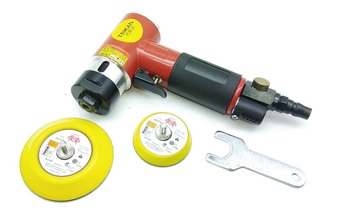 """New 1pcs  3"""" Pneumatic Low speed with Toothed Polisher Tool Speed regulation Air Sander Polishing Machine"""