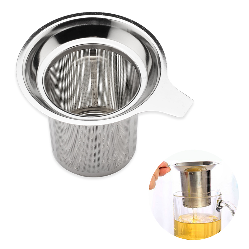 Aliexpress.com : Buy Stainless Steel Tea Infuser Mesh Strainer Handle Colander Mug Cup for Loose ...