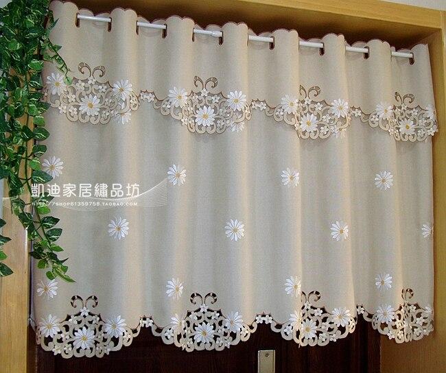 Aliexpress.com : Buy British Half Curtain Embroidered