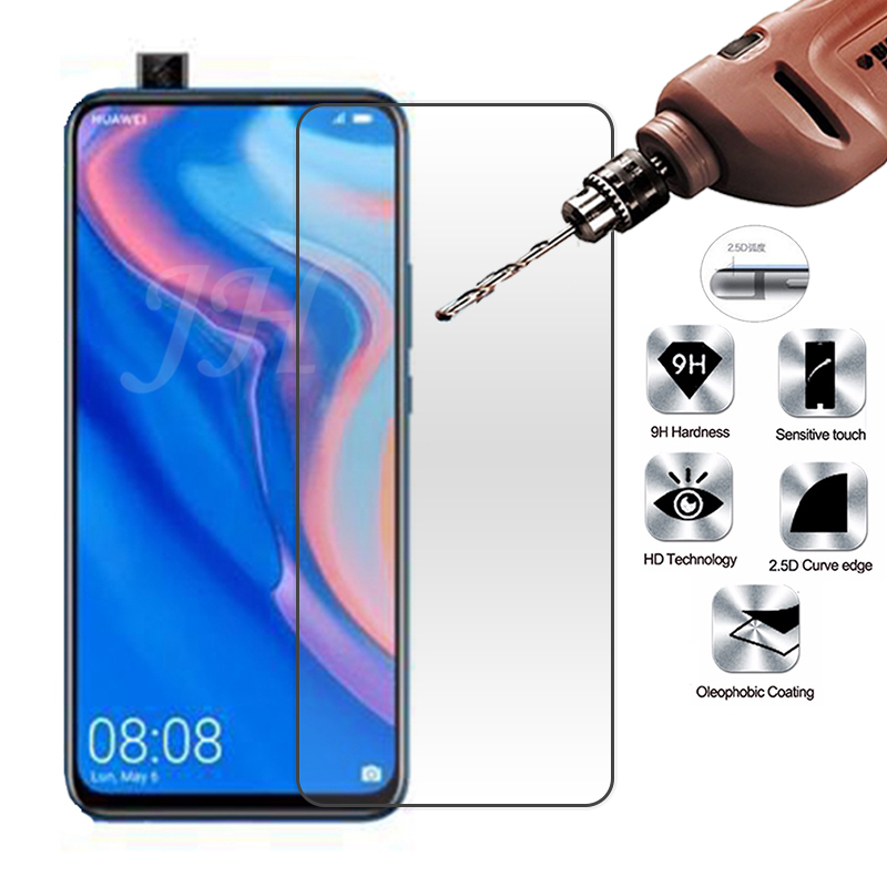 2Pcs Tempered Glass Screen Protector For Huawei Y9 Prime 2019 9H 2.5D Phone Protective Glass For Huawei Y9 Prime 2019 Glass