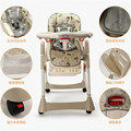 Portable high chair baby high chair baby feeding folding adjustable baby dining chair