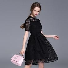 Новое поступление, красное платье с вышивкой, сексуальное кружевное Европейское и американское платье, вечерние платья для женщин