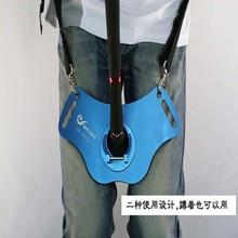 Фотография 285*160*70mm Stand Up Adjustable Belt Waist Rod Holder Big Fish Sea Fishing Fighting Belt Rod Holder Tackles Fishing Tools