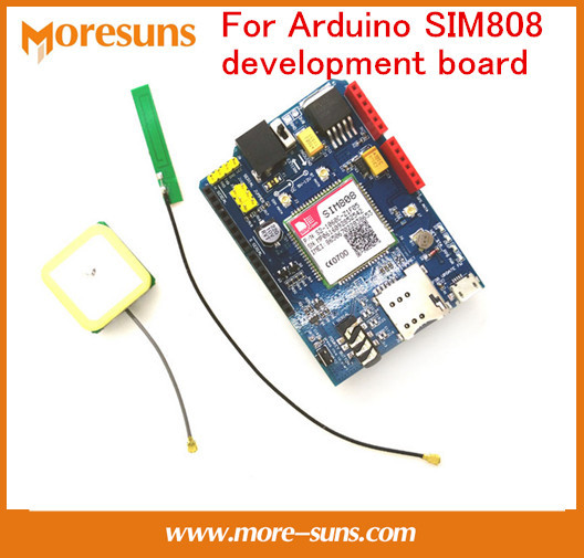 Fast Free Ship 3pcs/lot Replace SIM928 module GSM GPRS GPS BT available around the world For Arduino SIM808 development board