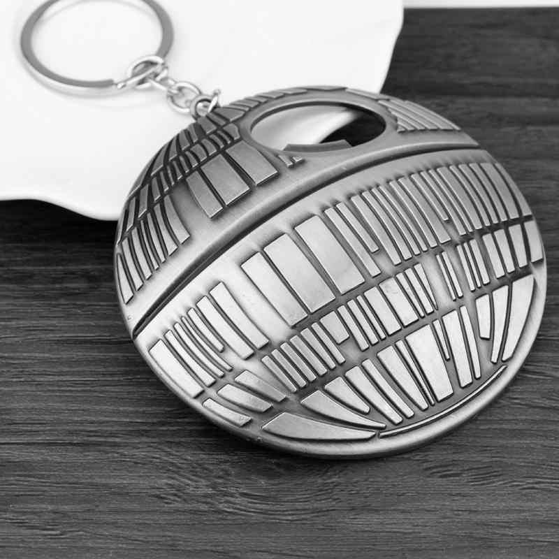 HANCHANG S Tar W Arsพวงกุญแจเปิดขวด2ใช้EDCเครื่องมือเครื่องประดับภาพยนตร์ดาวมรณะพวงกุญแจพวงกุญแจc haveiro