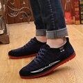 Novo 2016 Esporte sapatos Casuais Homens Sapatos Respirável Para O Homem Verão Fresco Sapatos De Couro Quente de Inverno