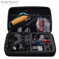 Suntaiho Малый/Средний/Большой Размер GoPro Сумка для Камеры SJ4000 SJ5000 M10 Для xiaomi YI Действий Камеры Противоударный Box аксессуары