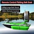 La más nueva versión de actualización RC Cebo Barco de Pesca de Control Remoto Inalámbrico/rc barco de los pescados señuelo barco de cebo grande de almacenamiento 1200G