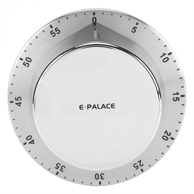Stainless Steel Kitchen Timer with Magnetic Base