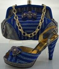 ME0011สีฟ้า,ขายร้อนเข็มรองเท้าส้นสูงเลดี้รองเท้าอิตาลีและถุงเพื่อให้ตรงกับผู้หญิงสำหรับพรรค,ใหม่รองเท้าและกระเป๋า