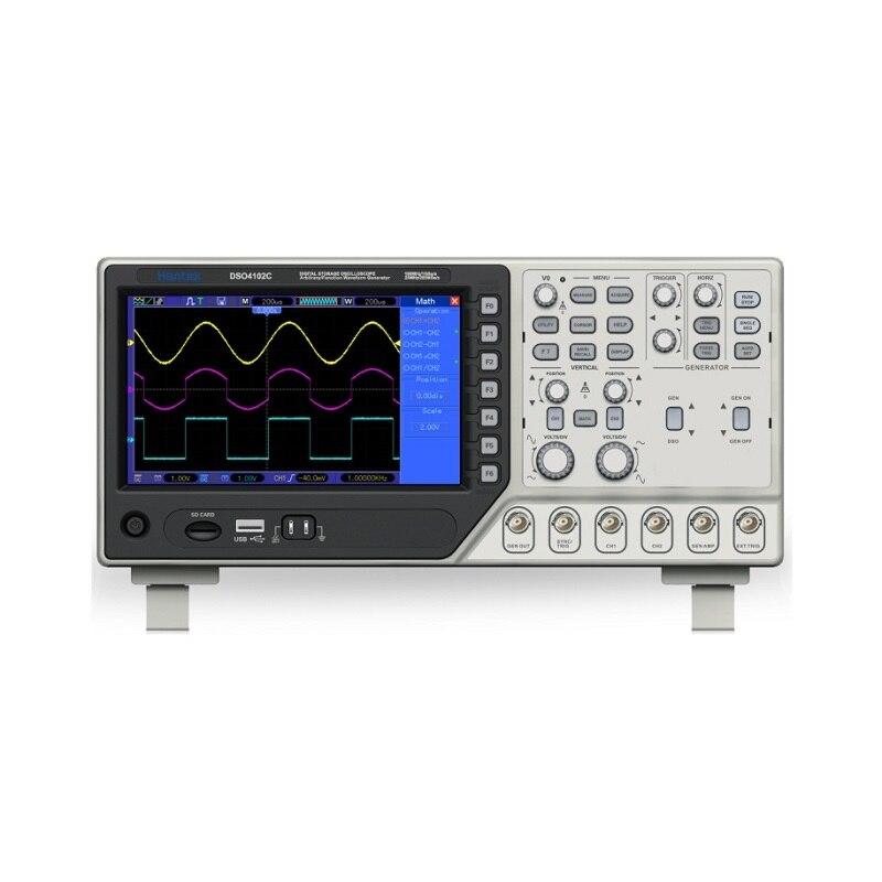 Hantek dso4102c digital multimeter Usb 100 mhz bandwidth 2 handheld channels usb oscilloscopes digital осциллограф