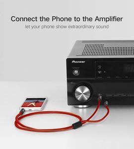 Image 5 - כבל אודיו 3.5mm להכפיל 6.35mm Aux כבל 2 מונו 6.5 שקע כדי 3.5 זכר עבור טלפון כדי מיקסר מגבר 6.35 מתאם